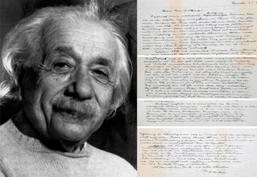 La Carta a Dios de Albert Einstein