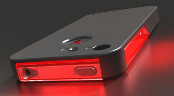 Nueva carcasa con leds para iPhone